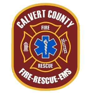 Calvert County Fire Rescue and EMS badge