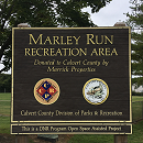 Marley Run Recreational Area Sign