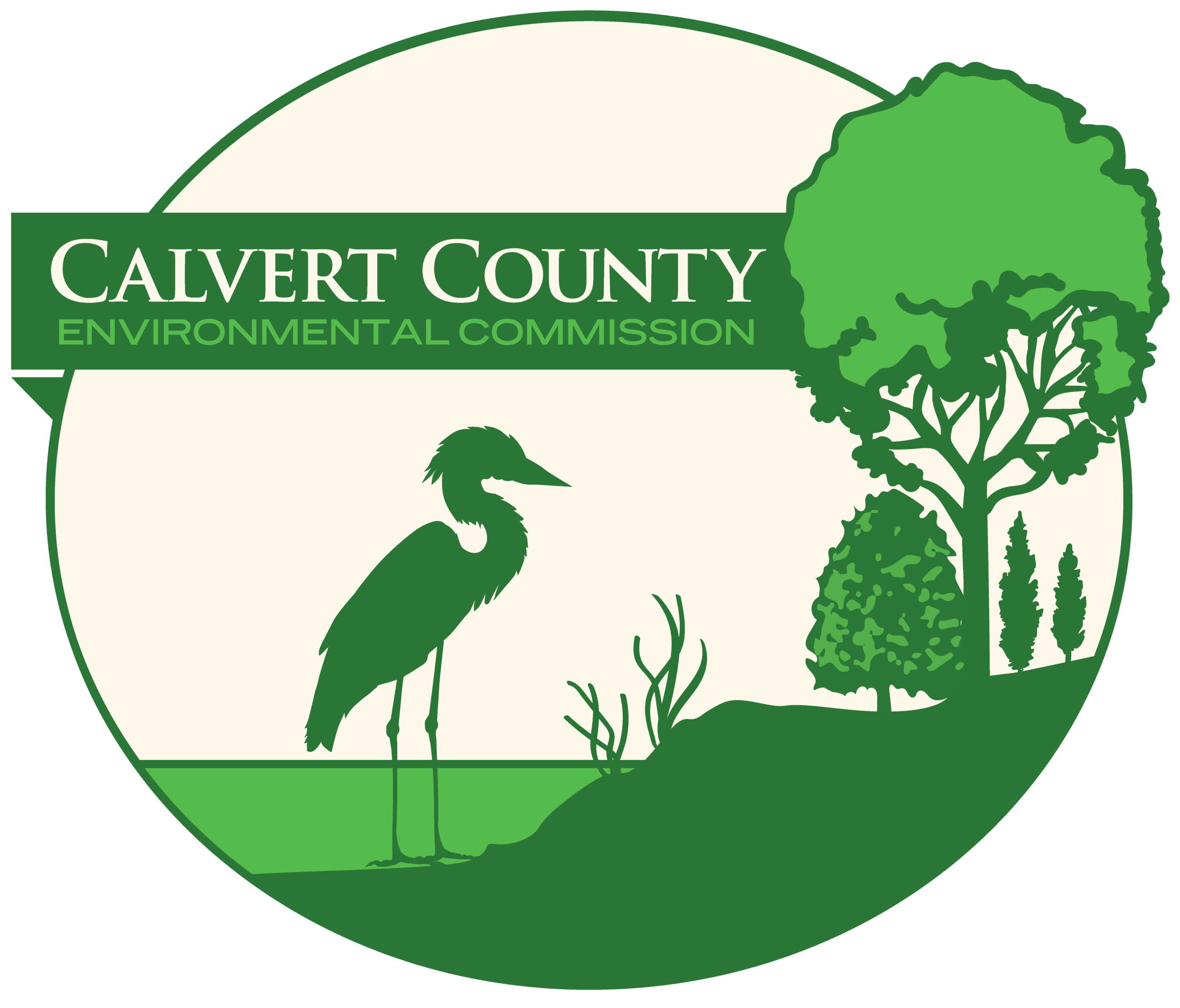 Calvert County Environmental Commission Logo 2019